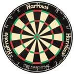 ERIC BRINSTOW'S FAMILY DART GAME Dwustronna Tarcza Do Darta HARROWS/FAMILY