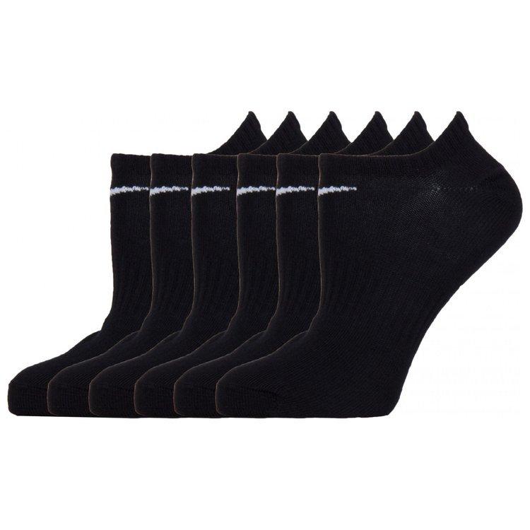 5eedb3fae98ade NIKE Skarpetki Stopki Dziecięce Lightweight No-Show Training Socks 6pak  SX6870-965